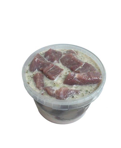 Шашлык из свинины (маринад сливочно-пряный)  2 кг